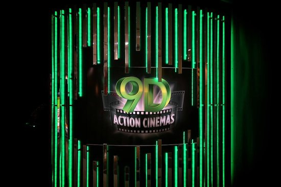 9D Action Cinemas-Darling Harbour