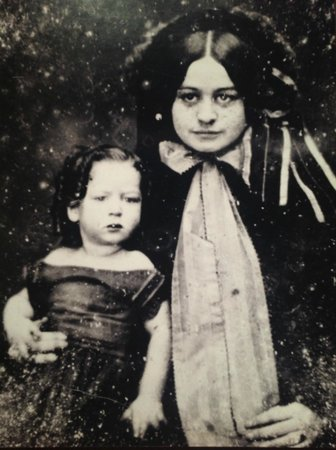 A Very Young Robert E Lee Jr With His Mother Mary Custis