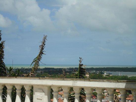 Hotel Solar do Imperador: Vista da cidade (varanda do restaurante no café da manhã)