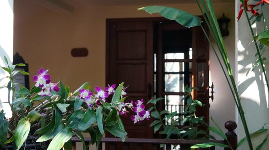 Shewe Wana Boutique Resort and Spa: Room Entrance