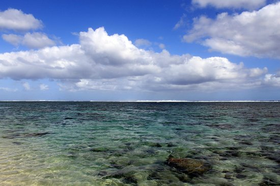 Tambua Sands' lagoon