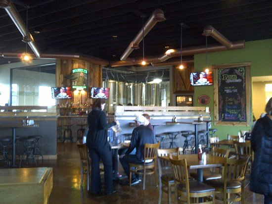 Waddell's Neighborhood Pub & Grill: Interior of the bar