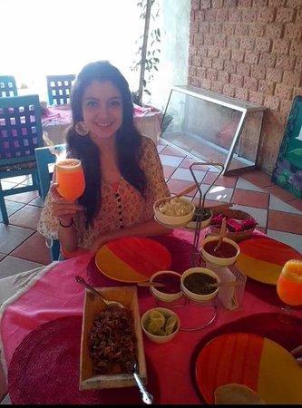 Earthborne Foods: Deliciosa comida mexicana y magnifica atención!