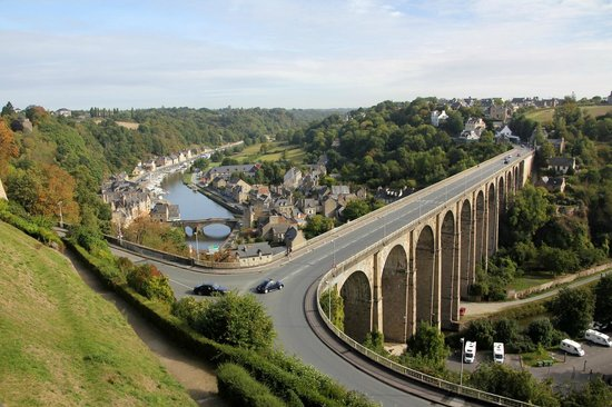 Ferme Saint Christophe: The bridge coming into Dinan - a beautiful town not far away from Ferme St Christophe.