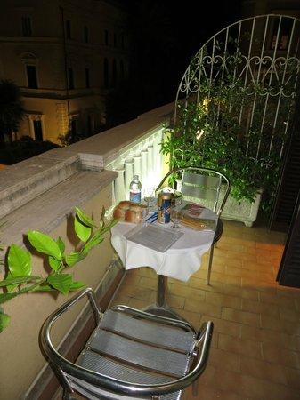 Siviglia Hotel : Balcón