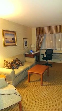 Holiday Inn Express Lynbrook : Suite Living Area