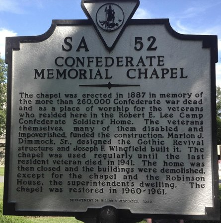 Monument Avenue: A historical marker