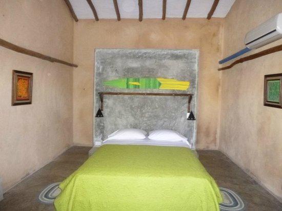 Casa Lajagua: la chambre