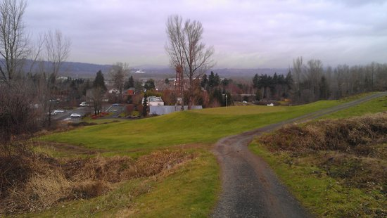 McMenamins Edgefield: 18th hole pitch and put course