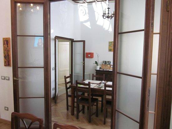 Gourmet B&B Villa Landucci: dining room