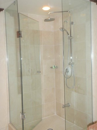 Prince of Wales: A great shower, two shower heads!