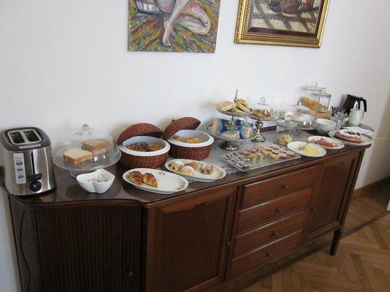 Gourmet B&B Villa Landucci: breakfast