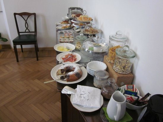 Gourmet B&B Villa Landucci: breakfast