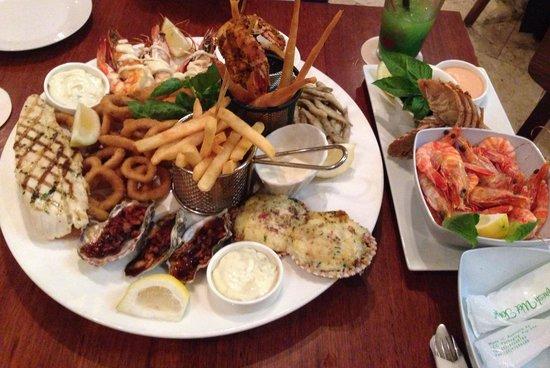 Fish d'vine: $140 platter for 2