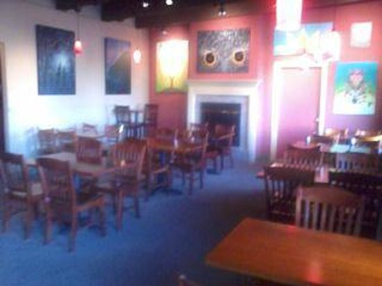 Updated interior of the Empire Cafe. Artwork by Jessica Elam