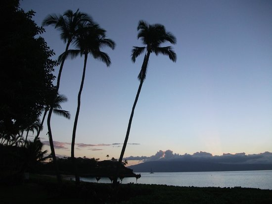 Royal Lahaina Resort: Beach view