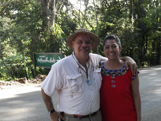Finca Vallescondido: With Willy - owner