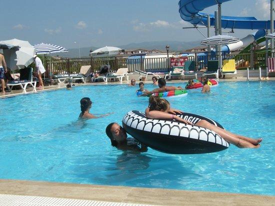 Eftalia Aqua Resort: Minuscule piscine