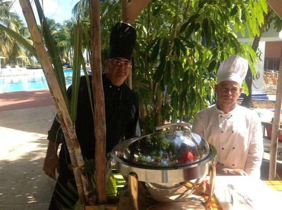 Islazul Villa La Mar: The Chefs