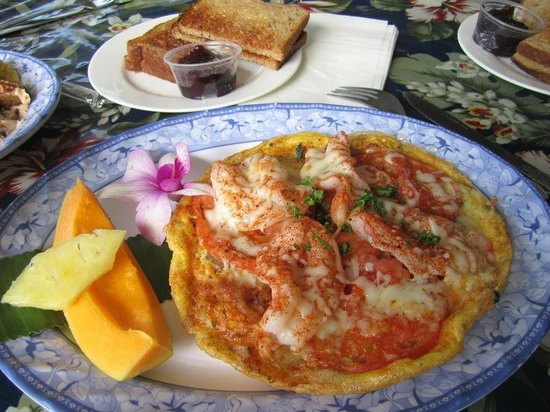 Kalapana Village Cafe : omelet