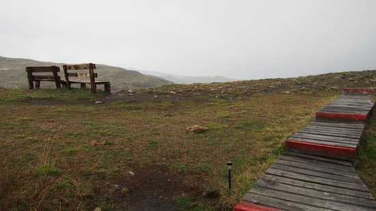 Ecocamp Patagonia: Sit here and enjoy the view