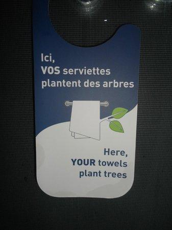 Novotel Paris Centre Bercy: Service de buanderie éco-responsable