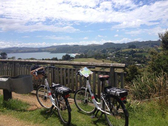 Ilha Waiheke, Nova Zelândia: Great bikes and great views