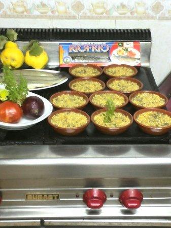 Riofrío, España: Unos de sus platos de cocina artesana.