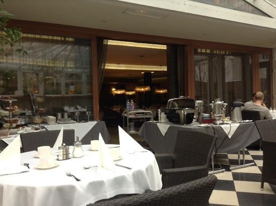 Belvedere Hotel: la sala ristorante