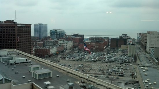 The Ritz-Carlton, Cleveland : View from the room