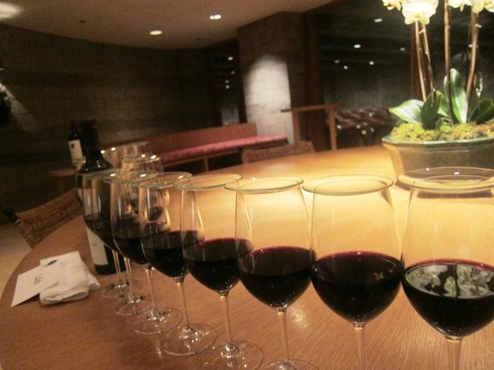 Opus One Winery: Ready for our tasting of the 2010 at the end of the tour