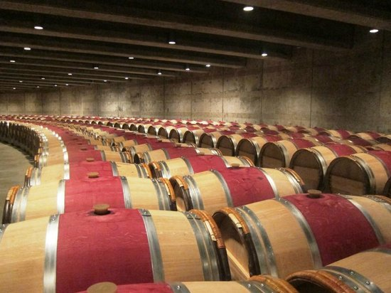 Opus One Winery: The 2013 Vintage sleeping