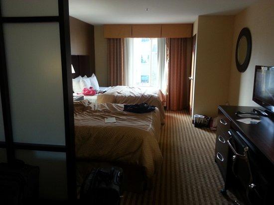 Comfort Suites at the Park: Bedroom