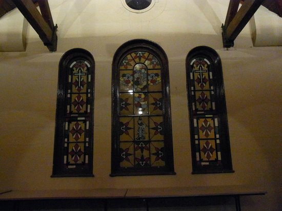 Maitland Gaol: Chapel Windows