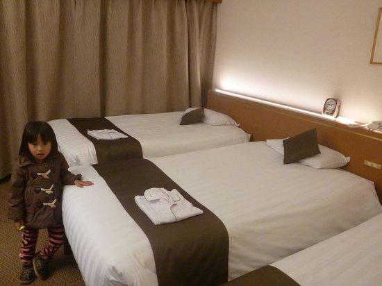 Dai-Ichi Inn Ikebukuro: ベッド