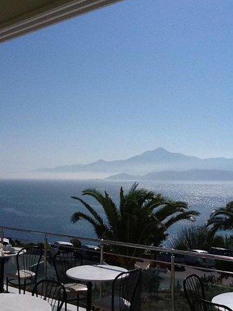 Princessa Riviera Resort: view from breakfast area