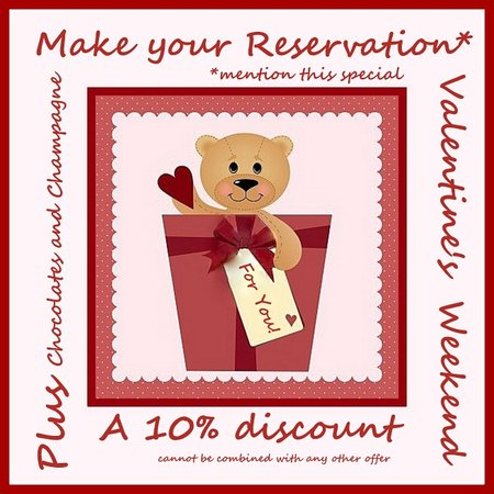 The Clarke House Bed & Breakfast : Valentine's Package