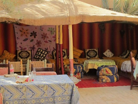Auberge  Derkaoua: tented luxury