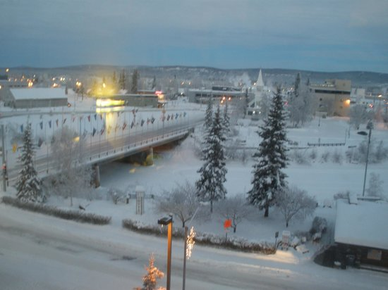 SpringHill Suites Fairbanks: View from room at front of hotel