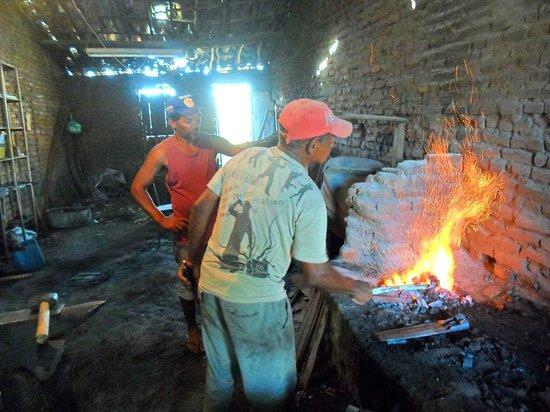 Oficina de ferreiro em Potengi