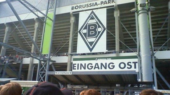 Borussia-Park: ボルシアパーク 東口