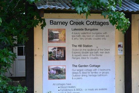 Barney Creek Cottages