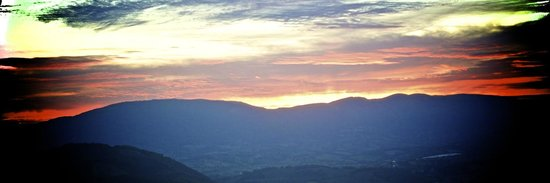 Eremo delle Grazie: Sunset