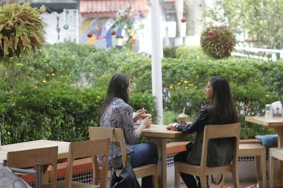 Cafe Kracovia : Terraza