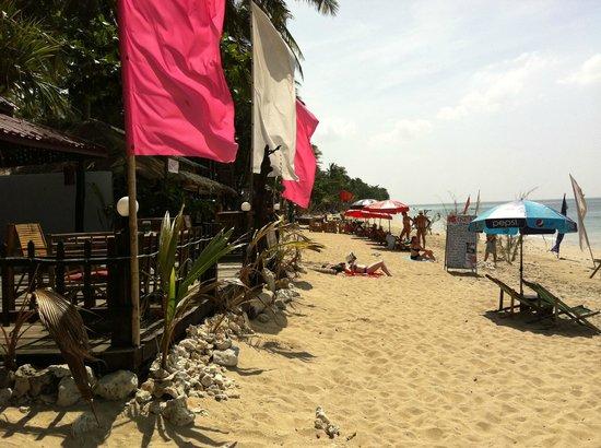 Klong Khong Beach Resort: Beach view