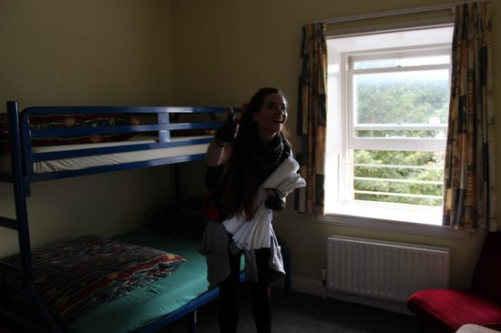 Cork International Hostel: Finally, in our comfy room