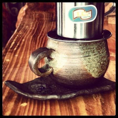 Kaca-fe: vietnamese coffee