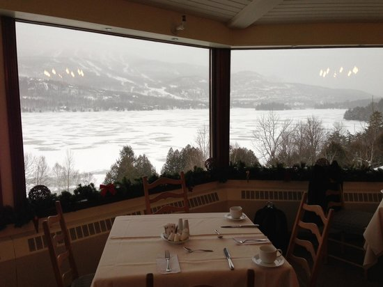 Hotel du Lac : Another panoramic view from restaurant