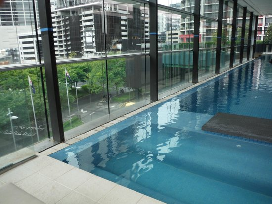 Crown Promenade Melbourne: View from pool