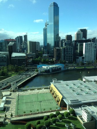 Crown Promenade Melbourne: View from room 22nd floor